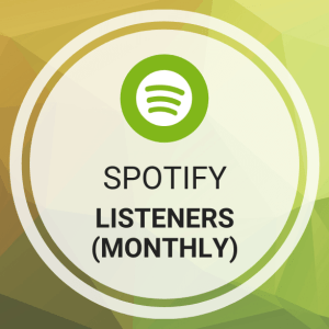 Buy Spotify Listeners (Monthly)
