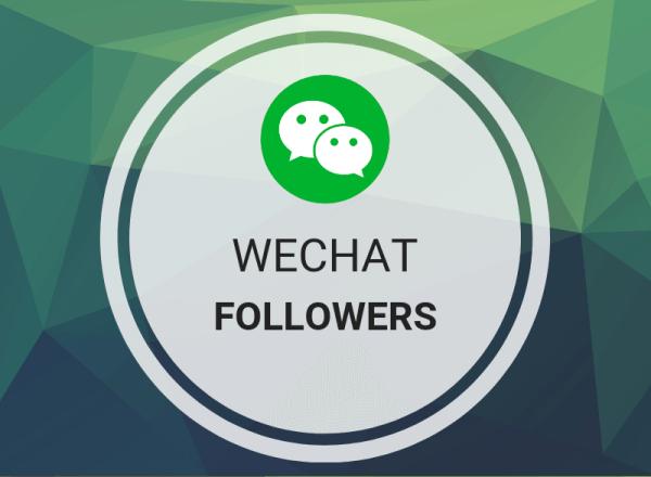 Buy WeChat Followers