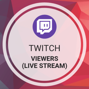 Buy Twitch Viewers (Live Stream)