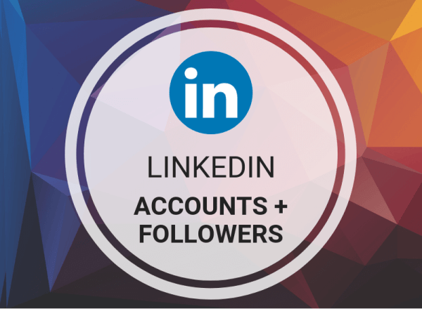Buy LinkedIn Accounts + Followers