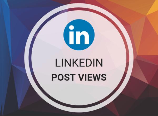 Buy LinkedIn Post Views