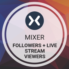 Buy Mixer Followers + Live Stream Viewers