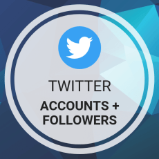Buy Twitter Accounts + Followers