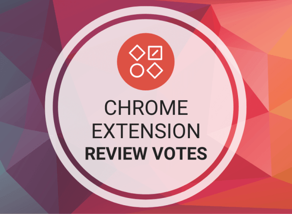 Buy Chrome Extension Review Votes