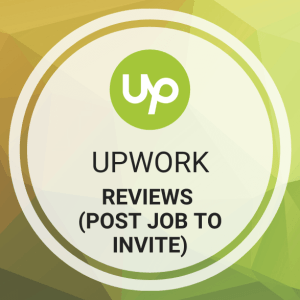 Buy Upwork Reviews (Post Job to Invite)