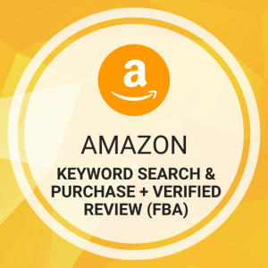 Buy Amazon Keyword Search & Purchase + Verified Review (FBA)