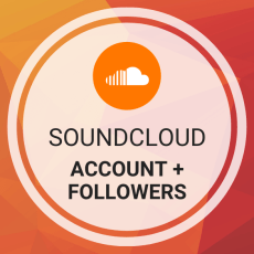 Buy SoundCloud Account (Email Verified) + Followers