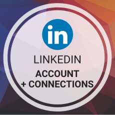 Buy 1 LinkedIn Account (Aged & PVA) + Connections