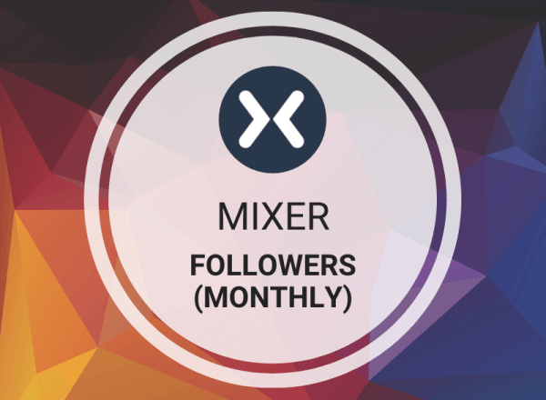 Buy Mixer Followers (Monthly)