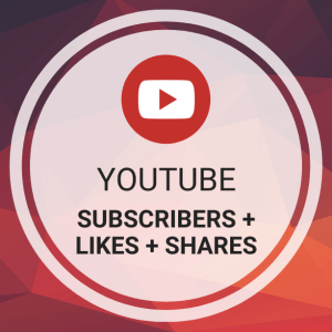 Buy YouTube Subscribers + Likes + Shares