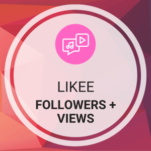 Buy Likee Followers (Fans) + Views