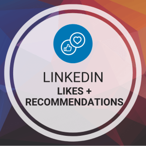 Buy LinkedIn Likes + Recommendations