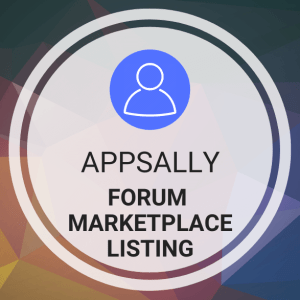 Buy AppSally Forum Marketplace Listing