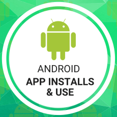 Android App Installs & Use