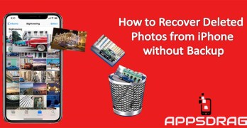How to Recover Deleted Photos from iPhone without Backup