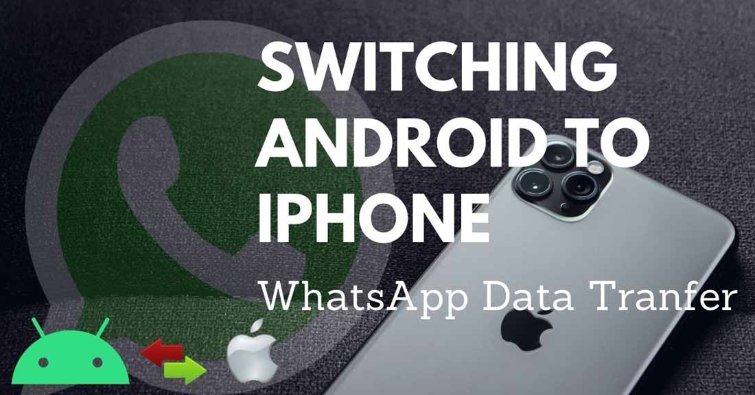 How to transfer Whatsapp data from Android to iphone