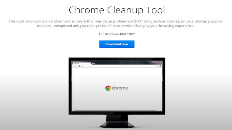 chrome cleanup tool mac
