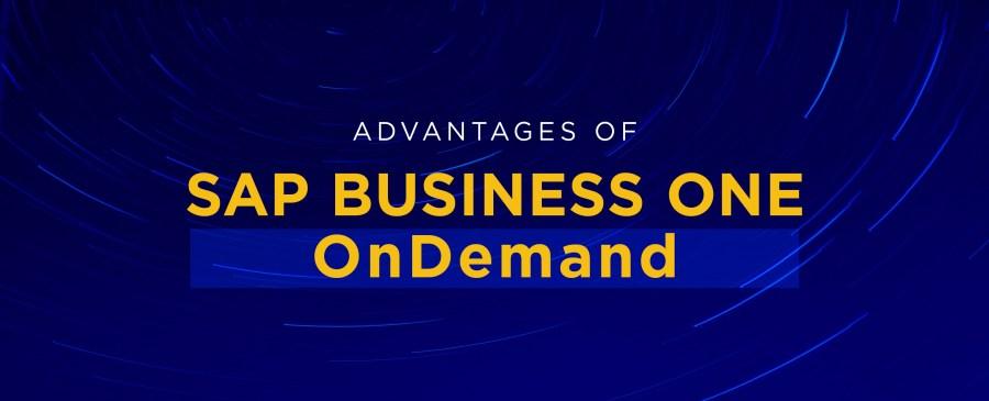 Advantages-of-SAP-Business-One-OnDemand