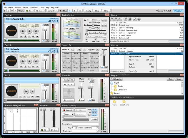 SAM Broadcaster Studio - Apps for My PC