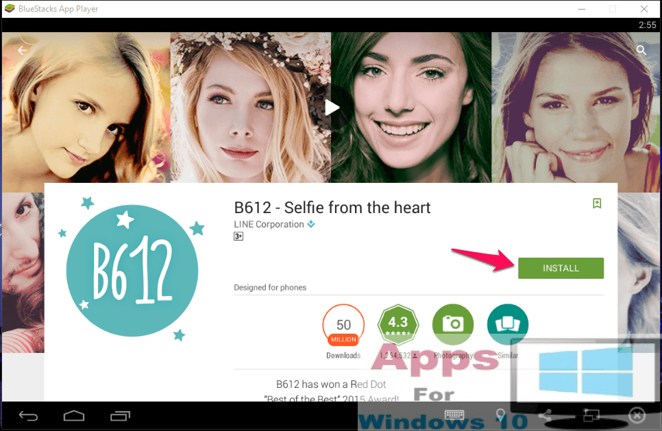 B612 - Selfie from the heart for PC Windows 10 & Mac OS