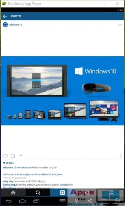 Instagram for Windows 10 PC Laptop and desktop | Apps For