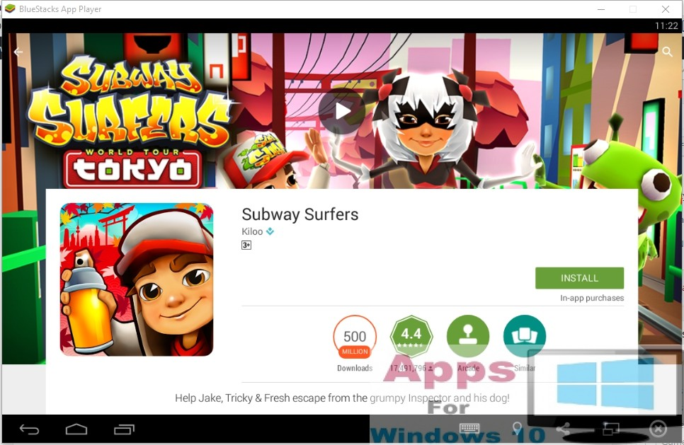 free play subway surfers tokyo on pc