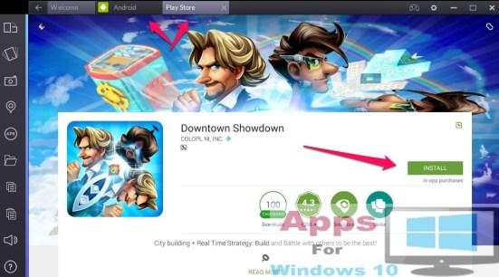 Downtown_Showdown_For_Windows10_Mac