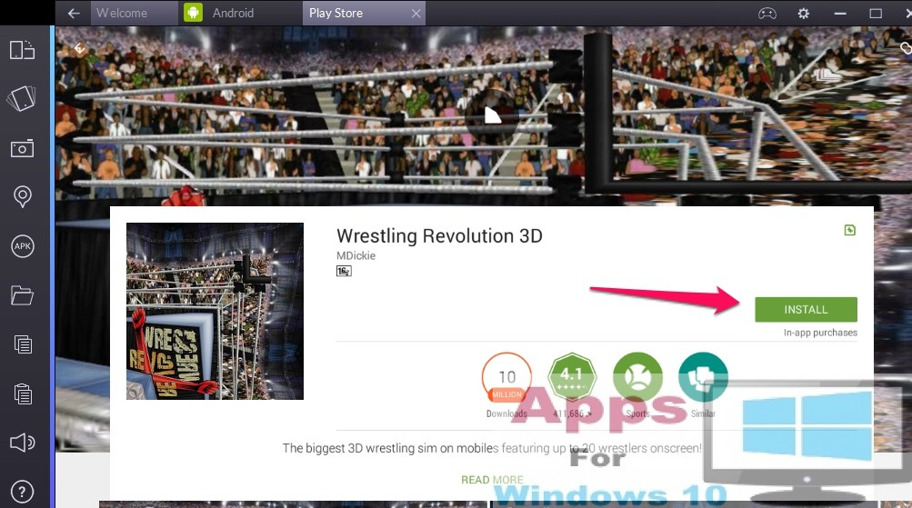 Wrestling Revolution 3D for PC Windows 10 & Mac | Apps For