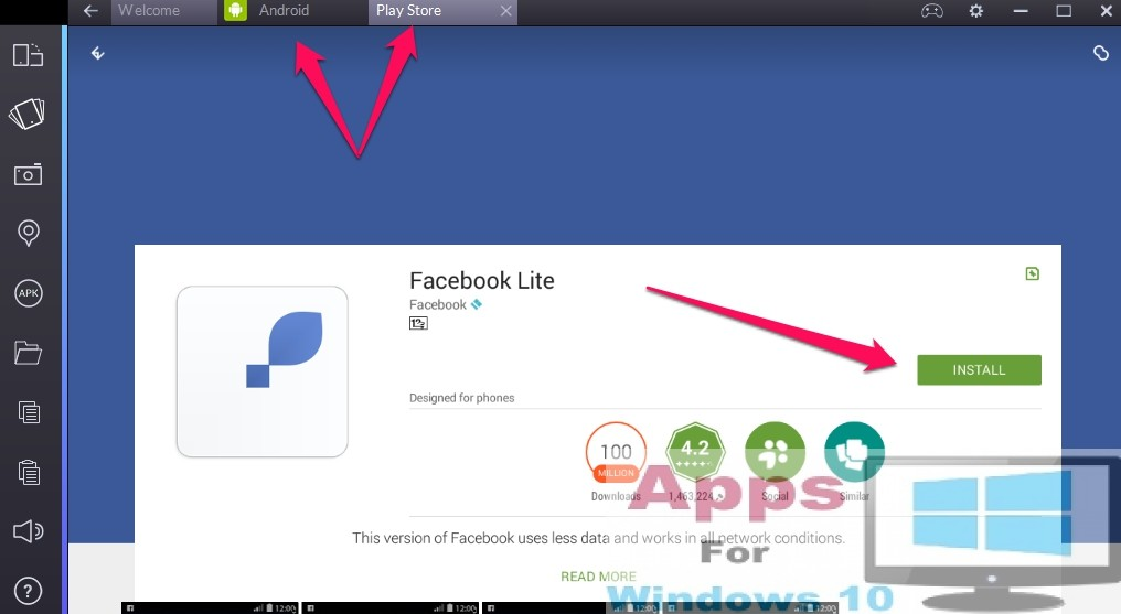 Facebook Lite for PC Windows 10 & Mac  | Apps For Windows 10