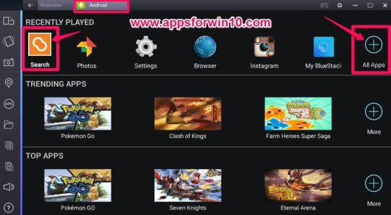 BlueStacks_All_Apps_and_Search_for_PC