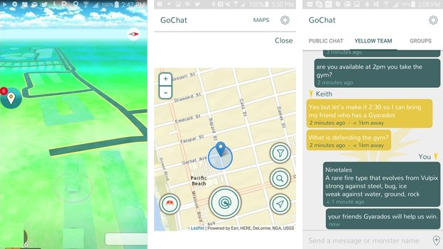 Download Chat for Pokemon GO GOChat for PC Windows 7, 10, 8