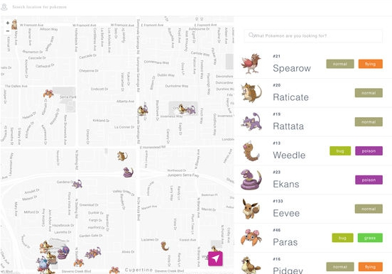 Poke finder for pokemon go Find all Pokemon near you for PC download