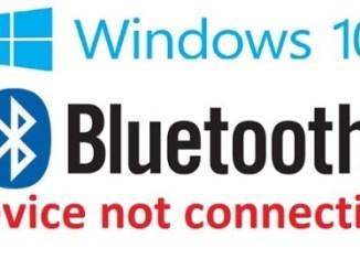 fix bluetooth connection problem windows 10