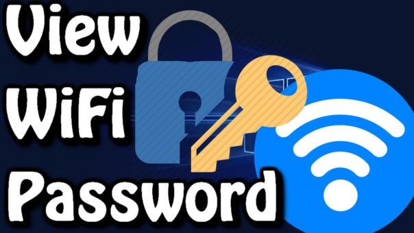 wifi password and settings windows 10