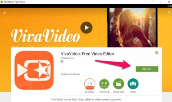viva video for pc download