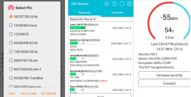 WiFi Warden ( WPS Connect ) for PC Windows 10, 7, 8, 8 1