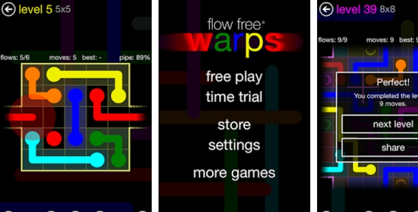 flow free warps for pc download free