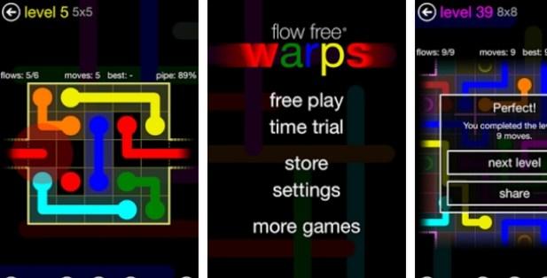flow free warps for pc download free