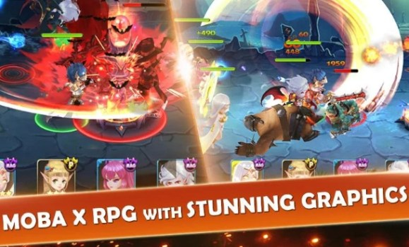 7 paladins 3d rpg x moba pc download