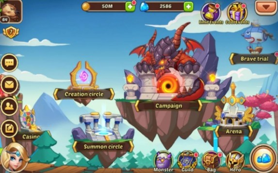 idle heroes pc download