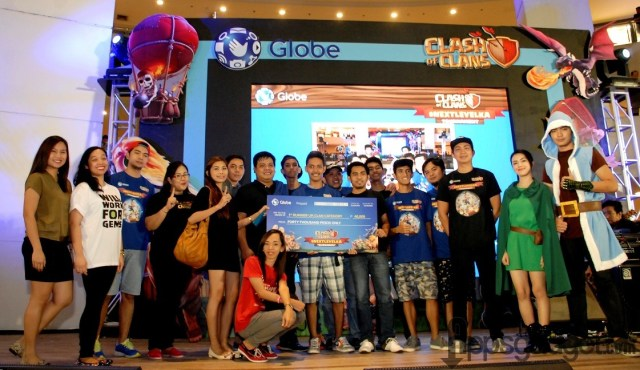 #NextLevelKa Manila CoC Tournament 1st runner up Clan Filipino Champs with team leader Jeric Lumogdang Paniza