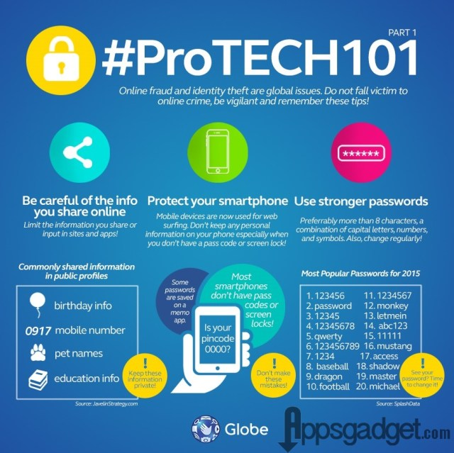 Online Security Vigilance #Protech101