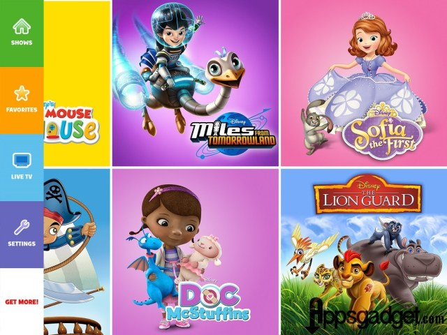 Philippines Disney Channels Apps