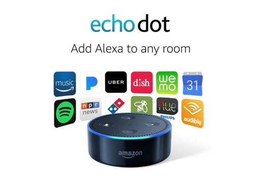 Echo Dot (2nd Generation) Smart Home Speaker