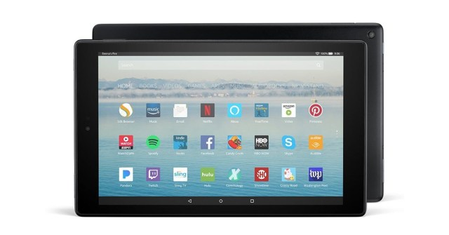 All-New Fire HD 10 1080p HD Tablet with Alexa Hands-Free