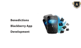 Blackberry App Development Company London