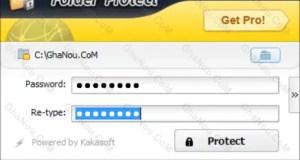 تحميل برنامج Folder Protection لتشفير الملفات