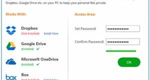 تحميل برنامج Cloud Secure لتخزين بياناتك