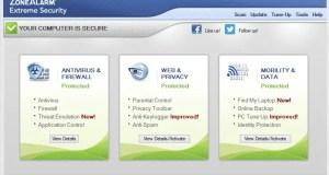 تحميل برنامج ZoneAlarm Extreme Security للتصفح الآمن