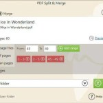 تحميل برنامج Icecream PDF Split&Merge